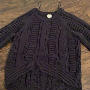 H and m knit sweater